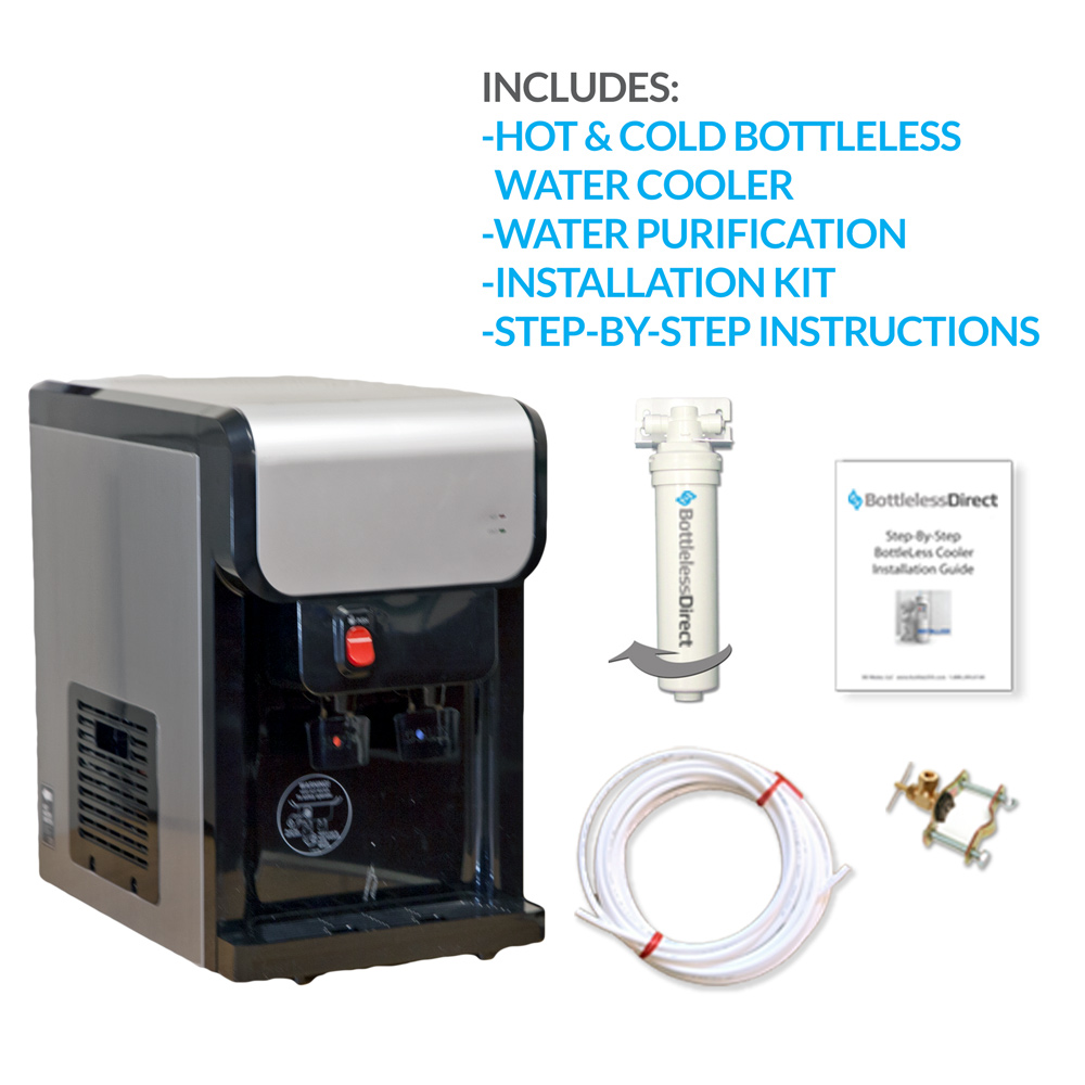 BDX1-CT Countertop BottleLess Water Cooler